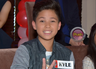 EXCLUSIVE: Kyle Echarri of The Voice Kids 2 says he wants to become an actor