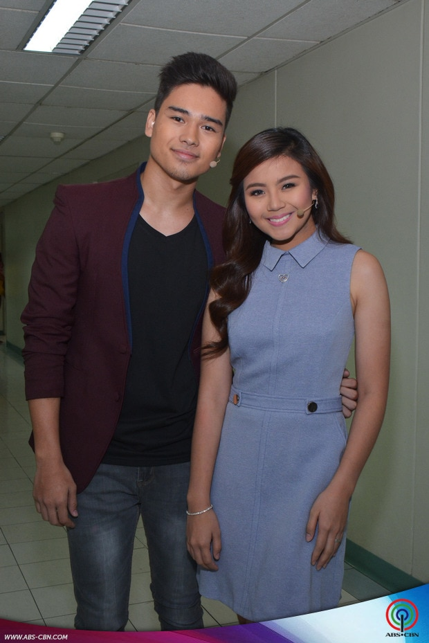 PHOTOS: Luv U kilig loveteam Miles and Marco on Kapamilya Deal or No Deal