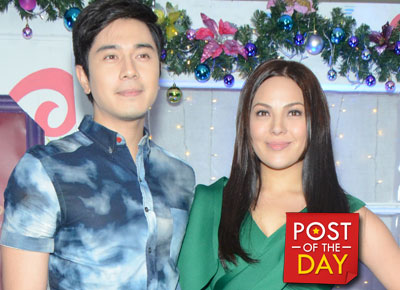 Spotted: KC Concepcion and Paulo Avelino bus seatmates in London