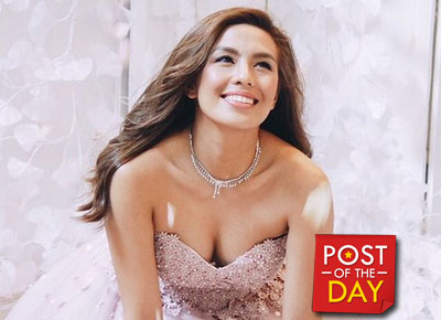 LOOK: Nikki Gil in a wedding gown