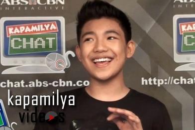 "Darren Esapanto belts out ""Through The Fire"" on Kapamilya Chat"