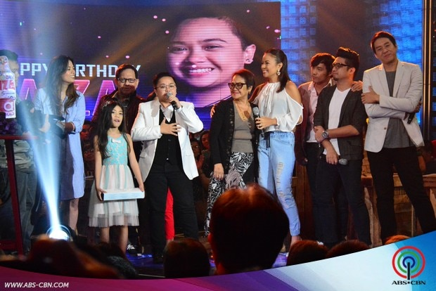 23 ASAP 20 Aiza Seguerra Birthday Celebration Aiza with family.jpg