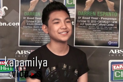 Fast Talk with Total Performer Darren Espanto