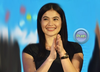 Anne Curtis withholds comments on 'JasPoe' pairing