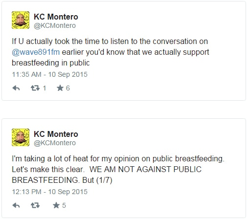 KC Montero clarifies stance on breastfeeding after online backlash