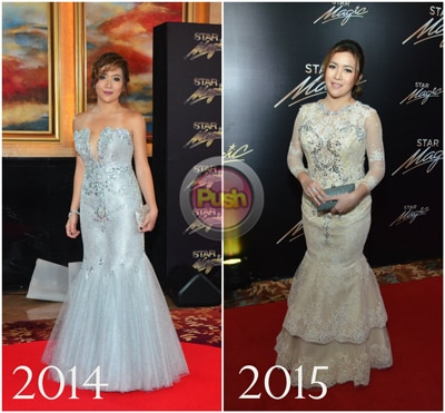 Stylestalker at the Star Magic Ball Red Carpet:  Better or Worse? (Part 2)