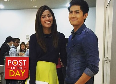 Gretchen Ho's message to the one who taught her how to make corny jokes