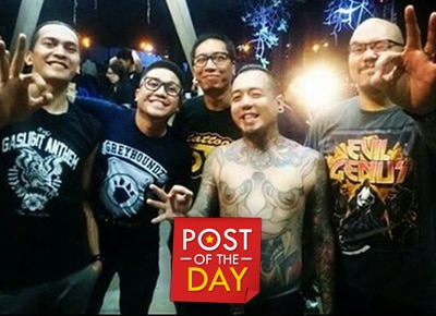 Parokya ni Edgar supports Kamikazee in their 'Huling Sayaw'