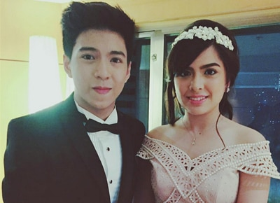 EXCLUSIVE: Nash Aguas says that he wants to do a rom-com with Alexa Ilacad