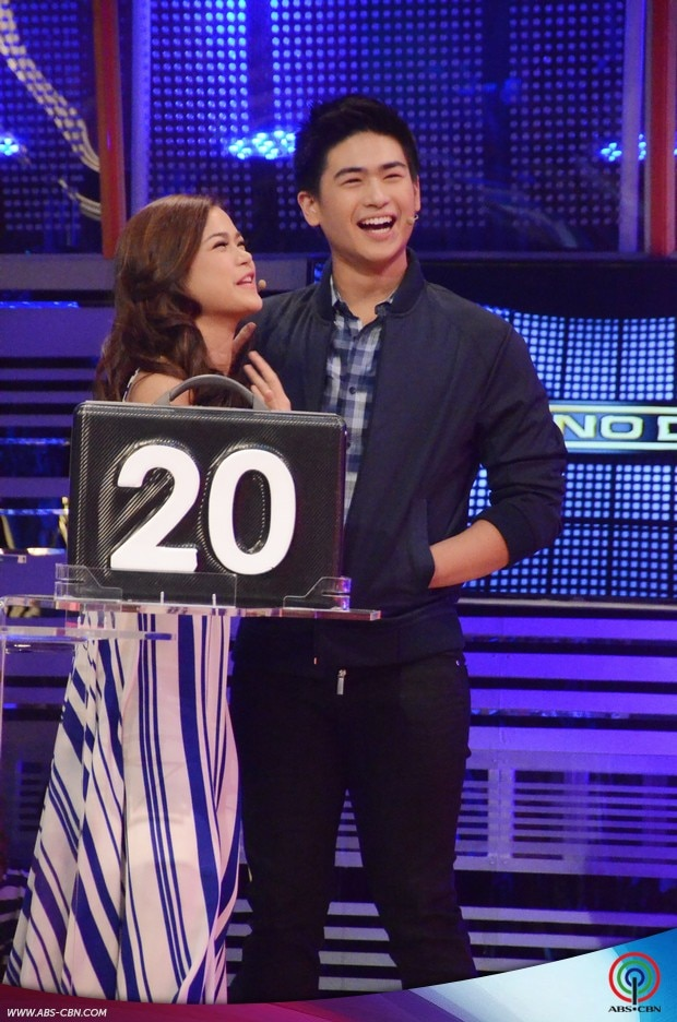 16 Kapamilya Deal or No Deal Maris Racal and Manolo Pedrosa.jpg