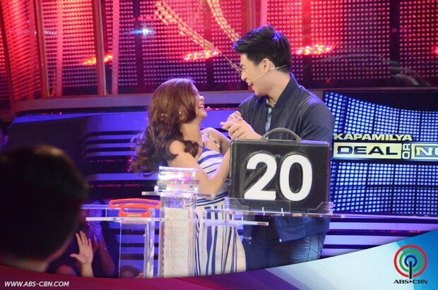 51 Kapamilya Deal or No Deal Maris Racal and Manolo Pedrosa.jpg