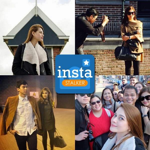 Bea Alonzo and Maja Salvador in Amsterdam