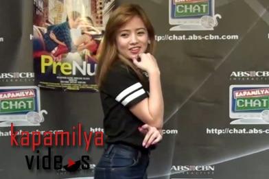 WATCH Ella Cruz imitate the supah cool dance moves of Maja , Sarah G, Kim, Anne and Sarah L