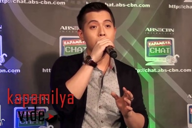 The Voice Season 2 Champ Jason Dy sings Be My Lady's theme song LIVE at the Kapamilya Chat