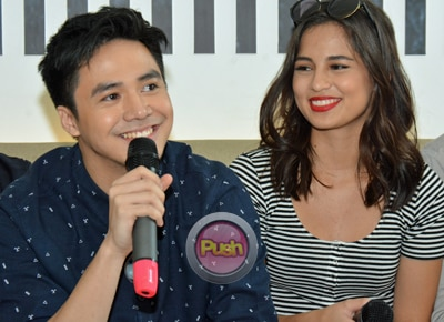 Is Sam Concepcion open to working with ex-girlfriend Jasmine Curtis-Smith in a teleserye?