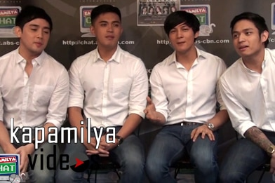 WATCH Harana sing 'Number One' LIVE at the Kapamilya Chat