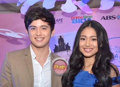 James Reid and Nadine Lustre are excited to work with Coco Martin and Vice Ganda
