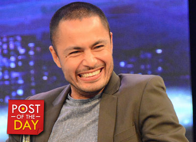 Father and son bonding: Derek Ramsay visits son Austin