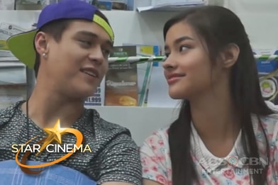WATCH: Kulitan and kilig moments with Gerald Anderson, Liza Soberano and Enrique Gil on the set of '