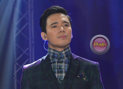 Will Erik Santos try dancing?