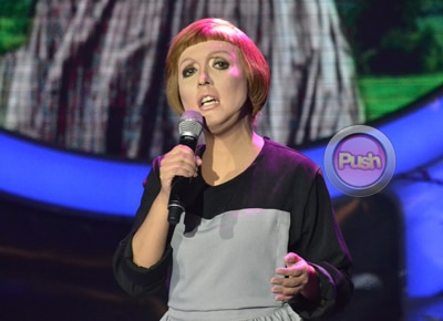 Kakai Bautista wows as Julie Andrews on Your Face Sounds Familiar