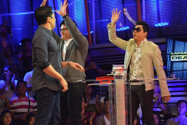 PHOTOS: Santiago brothers Randy and Rowell on Kapamilya Deal or No Deal