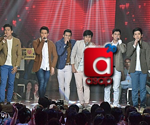 PHOTOS: Dream boys Enrique, Albie, Anjo, Joshua, Jerome and Marco in #KiligKapamilya prod