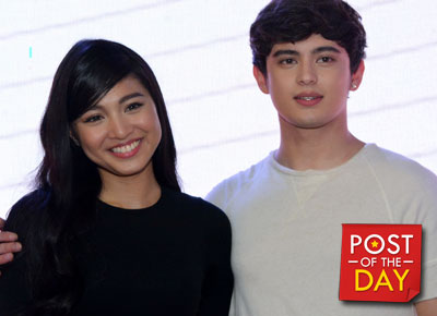 Look: James Reid gives Nadine Lustre a special birthday gift