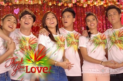 WATCH: ABS-CBN Christmas 2015 Station ID Recording Session Music Video