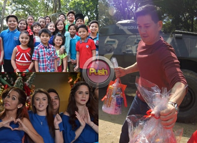 Kapamilya celebs share their stories about the ABS-CBN Christmas SID