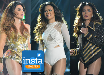 Instastalker: Maja Salvador gives touching messages to her concert guests