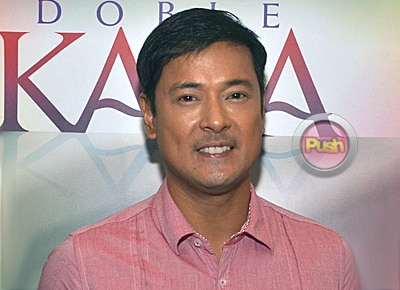 Allen Dizon says he's not after an award in doing new indie film