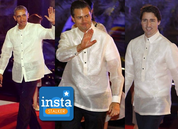 LOOK: World leaders in their barong tagalog