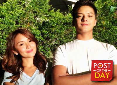 Daniel Padilla and Kathryn Bernardo endorse Mar Roxas for President