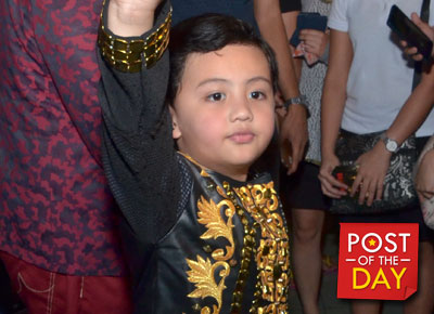 Alonzo Muhlach makes his mommy and daddy proud