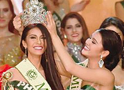 2015 Miss Earth is Philippines' Angelia Ong, makes back-to-back win history