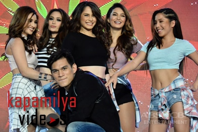 WATCH:  Jessy, Sarah, Coleen, Arci, Dawn & Zeus in sexy dance number at the Kapamilya, Thank You For