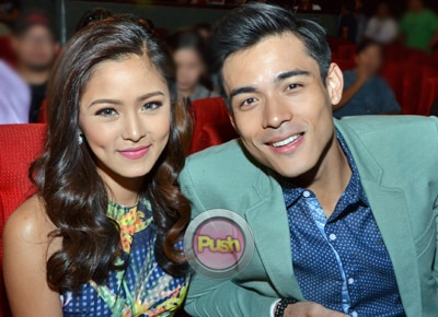 What do Kim Chiu and Xian Lim plan to give each other for Christmas?
