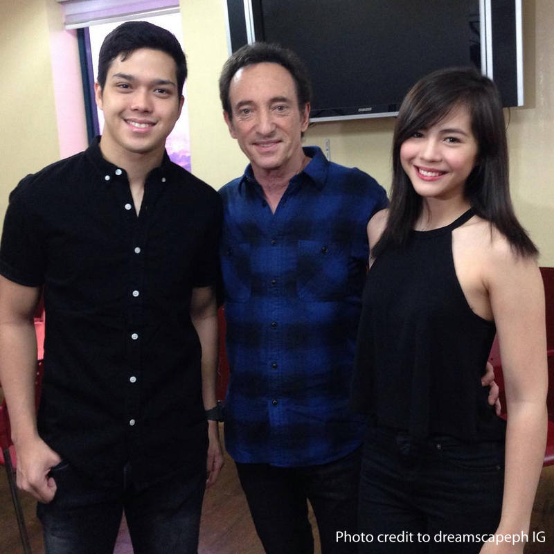 LOOK: Janella and Elmo record 'Born For You' with the international singer & songwriter David Pomera