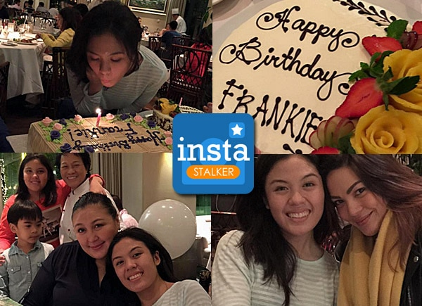 Frankie Pangilinan's birthday celebration