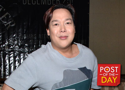 John Lapus' funny reaction to Miss Universe 2015 Pia Wurtzbach's win