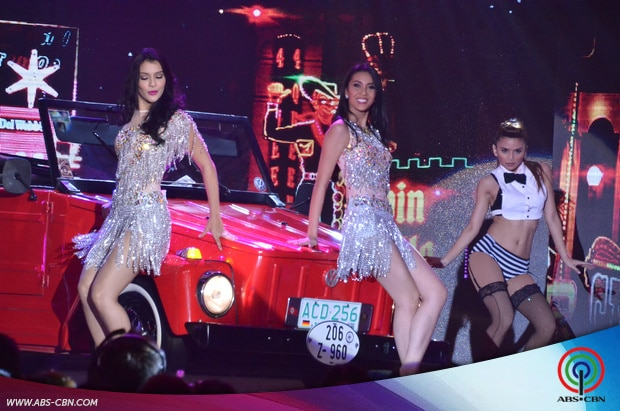 PHOTOS: ASAP Dance Goddess Sarah Lahbati's showdown with Miss Earth Queens Jamie Herrel and Angelica