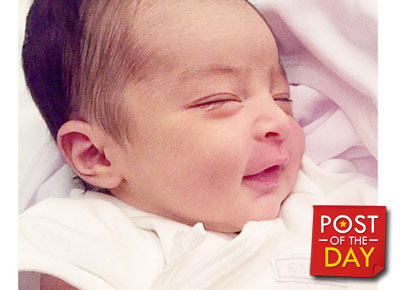 Maria Letizia turns one month old