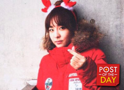 """WATCH: Sandara Park on drums, playing """"Fire"""" and """"All I Want for Christmas is You"""""""