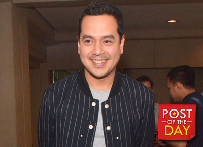 WATCH: John Lloyd Cruz jams with Up Dharma Down's Armi Millare