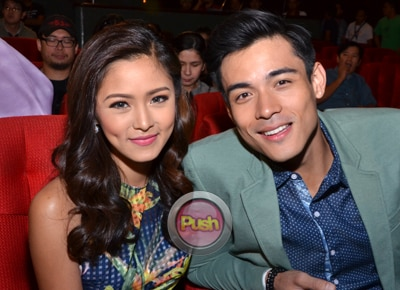 "Xian Lim admits he's still ""kilig"" with Kim Chiu"