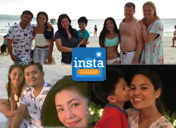 Regine Velasquez and Ogie Alcasid's holiday outing with Michelle Van Eimerenn and family