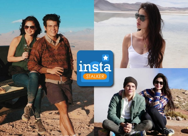 Anne Curtis and Erwan Heussaff in Chile