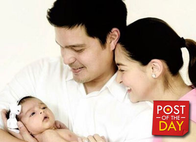 Dingdong Dantes and Marian Rivera celebrate their first wedding anniversary
