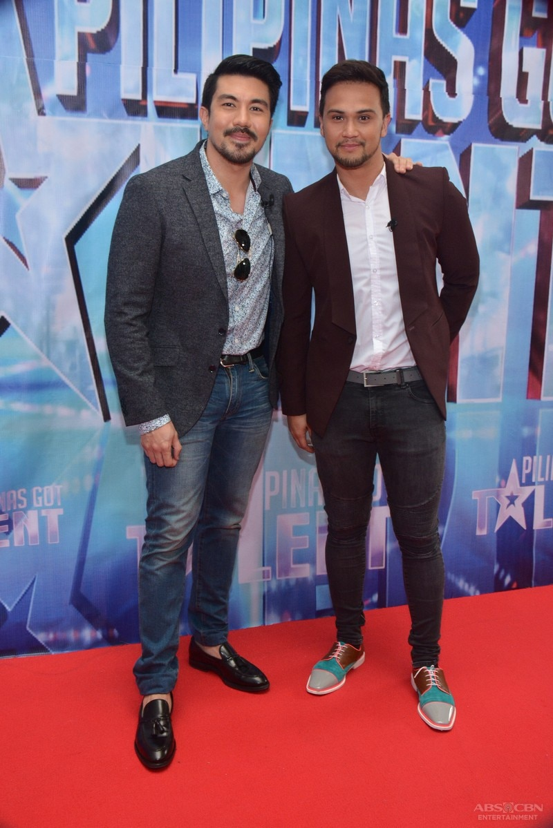 PHOTOS: The power tandem of Luis and Billy in Pilipinas Got Talent Season 5